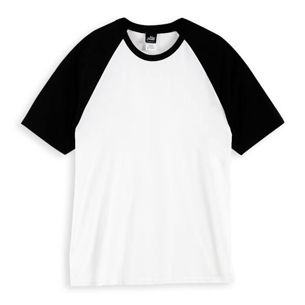 圆领t恤结构图